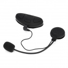 SK-BH-M1 Windproof Water Resistant Bluetooth v2.1 Stereo Headphone w/ Microphone - Black