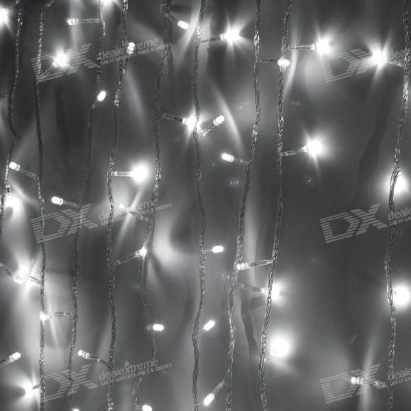 White 180-LED Christmas/Decoration String Lights (18-Meter/220V AC)