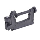 Portable Multi-Function Folding Clamp Tripod for Mini Card Digital Camera - Black