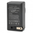 AC Digital Camera Battery Charger for Nikon EN-EL20 - Black (AC 100~240V / 2-Flat-Pin Plug)