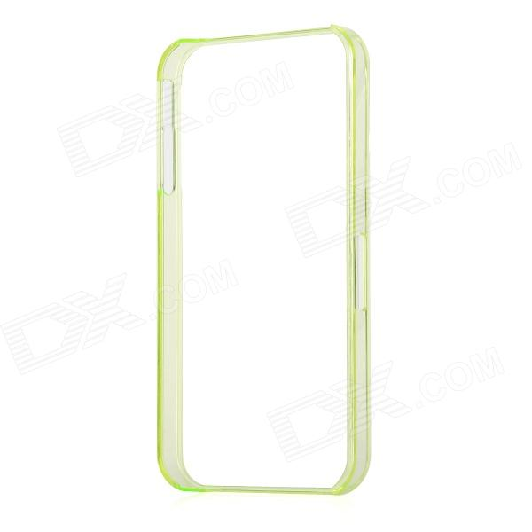 Protective ABS Bumper Frame for Iphone 4 / 4S - Transparent Light Green