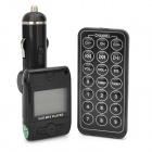 "FM203 1.3"" LCD Car MP3 Player FM Transmitter with Remote Controller - Black (12~24V)"