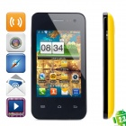 "Sunup YC800 Android 2.3 GSM Phone w/ 3.5"" Capacitive Screen, Dual-Band and Wi-Fi - Yellow + Black"