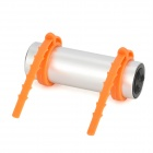 Stylish Waterproof MP3 Player w/ FM - Silver + Orange (4GB)