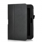 "Protective PU Leather Case for Kindle Fire HD 8.9"" - Black"
