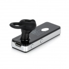 Cannice KK2 Bluetooth v2.1 гарнитура для Iphone 4 / 4S / 5 + Ipad 2/3 - черный + серебро