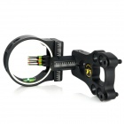5-Pin 6061-T6 Aluminum Bow Sight Scope - Black - Other Sports Gadgets Sports and Outdoors