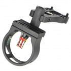 5-Pin 6061-T6 Aluminum Bow Sight Scope - Black