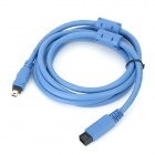 Sgo High Speed 480Mbps 1934 9-Pin Female to 4-Pin Male Data Cable - Blue (180cm)