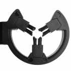 TP812 Capture Tiro con arco Brush Arrow Rest - Negro