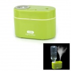 XYT-004 USB Powered Ultrasonic Anion Aroma Diffuser Air Humidifier - Green