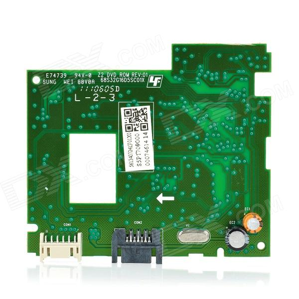 Original 16D5S Drive Board for XBOX 360 Slim - Green 2 5 sata 500gb hard drive enclosure for xbox 360 slim black