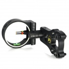 3-Pin 6061-T6 Aluminum Bow Sight Scope - Black - Other Sports Gadgets Sports and Outdoors