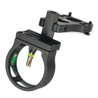 3-Pin 6061-T6 Aluminum Bow Sight Scope - Black