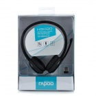 RAPOO H8030 2.4GHz Wireless Headphone Headset w/ Microphone - Black