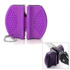 Tragbare Kitchen Knife Sharpener - Purple