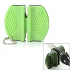 Portable Mini Kitchen Knife Sharpener - Green