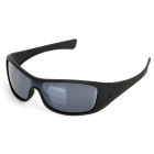 OPEKA 5935 Outdoor Sports UV Protection Resin Lens PC Frame Glasses Goggles - Black