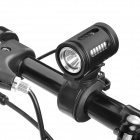 UltraFire Cree XM-L T6 690lm 3-Mode White Light Swivel Bike Light - Black