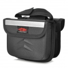 D2610 Bicycle Front Lever Oxford Fabric Storage Bag - Black