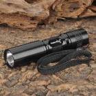 FandyFire C3 Cree XR-E Q5 160lm 1-Mode White Light Portable Flashlight - Black (1 x AA)