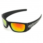 OPEKA 5962 Outdoor Sports UV Protection PC Lens + Frame Glasses Goggles - Black