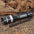 BANYOU 2188 Cree XP-E Q5 350lm 3-Mode Memory White Light Zooming Flashlight - Black (1 x 18650)