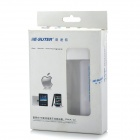 Portable 3G 802.11a/b/g/n 150Mbps Wireless Mobile Power Router - White + Blue