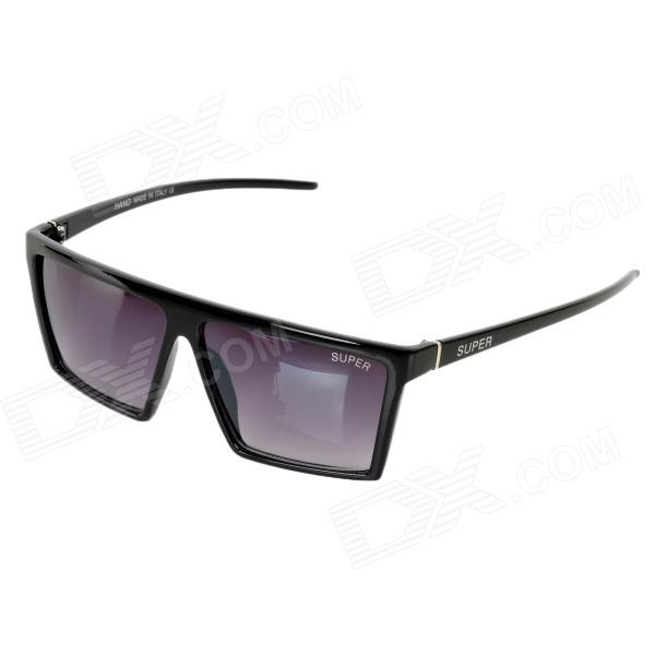 OREKA 1060 Outdoor Sports UV Protection PC Lens + Frame Sunglasses Goggles - Black