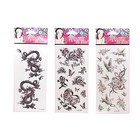 Tattoo Style Body Stickers (6-Sheet Set)