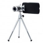 12X Zoom Telescope Lens w/ Tripod for Samsung Galaxy SIII i9300 - Silver + Black