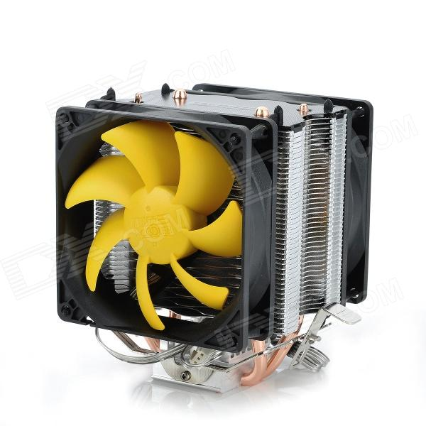 все цены на PCCOOLER S90D Hydraumatic CPU Heatsink W/ Cooler Fan - Black + Silver + Yellow онлайн
