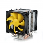 PCCOOLER S90D Hydraumatic CPU Heatsink W/ Cooler Fan - Black + Silver + Yellow