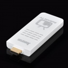 NX002 Dual-Core Android 4.1.1 Google TV Player w/ Wi-Fi / 1GB RAM / 4GB ROM - White + Silver