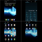 "X29i Android 4.1 WCDMA Bar Phone w/ 4.5"" Capacitive Screen, Wi-Fi, GPS and Dual-SIM - Black"