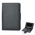 Bluetooth V3.0 Wireless Keyboard w/ Protective PU Leather Case Stand for Amazon Kindle Fire HD 7&quot;