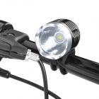 MagicShine MJ-808 SSC Z7 900lm 3-Mode White Bike Light - Black + Silver (4 x 18650)
