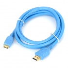 Sgo Mini HDMI Male to HDMI Male Connection Cable - Blue (140cm)