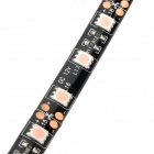 Impermeable 54W 300-SMD 5050 LED Strip Light Pink Car Decoration flexible de la lámpara (5m / 12 V)