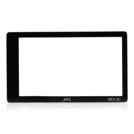 JYC Professional Optical Glass LCD Screen Protector for Sony NEX3 / NEX5 - Transparent + Black