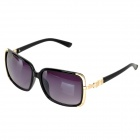 OREKA 1058 Outdoor Sports Woman's UV Protection PC Lens Sunglasses Goggles - Golden + Black