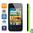 "Sunup YC800 Android 2.3 GSM Phone w/ 3.5"" Capacitive Screen, Dual-Band and Wi-Fi - Green + Black"