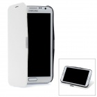 Protective PU Leather Case Cover for Samsung Galaxy Note 2 N7100 - White