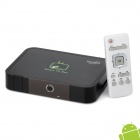 GV-17 Android 4.0 Google TV Player w/ Wi-Fi / 2.0MP Camera / 1GB RAM / 8GB ROM / VGA / RJ45 - Black