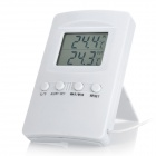 "TL8007-TH 2.0"" LCD Digital Indoor / Outdoor Thermometer - White (1 x AAA)"