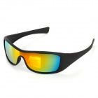 OPEKA 5935 Outdoor Sports UV Protection PC Lens + Frame Sunglasses Goggles - Black