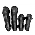 YW-020 Motorcycle Sports Knee + Elbow Protector Pad Guard Kit