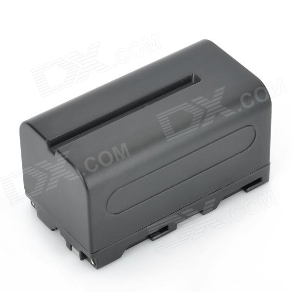 NP-F750 7.4V 4400mAh Rechargeable Battery for Sony CCD-TR / CCD-TRV / DCR-VX + More - Black зарядное устройство для фотокамеры oem bc sony np fv100 dcr sr68 hdr xr350e cargador dcr dvd103 5 bc trv