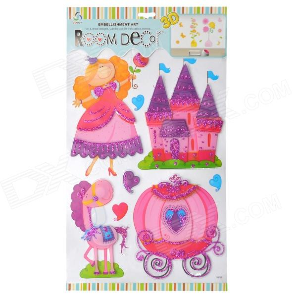 3D Fairytale Princess Style Room Decoration Stickers - Multicolor б и ханенко в н ханенко и а шляпкин древности русские кресты и образки древние русские кресты