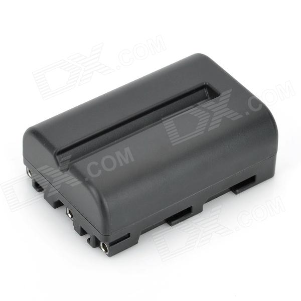 NP-FM500H 7.4V 1500mAh Rechargeable Battery for Sony A200 / A300 / A350 / A450 / A500 + More - Black